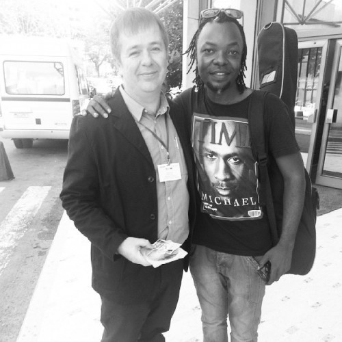 Me and Shak Shakito, Kinshasa April 2014