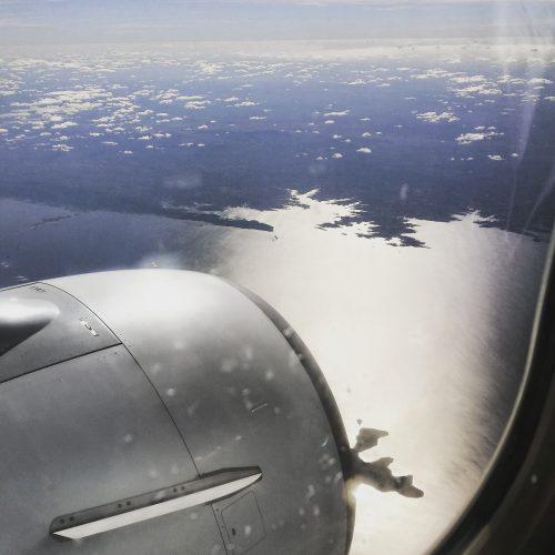 Kariba dam from the air